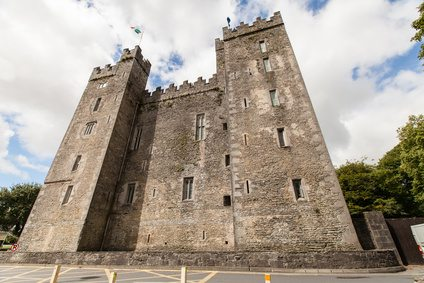 Bunratty Castle, County Clare, near the Wild Atlantic Way